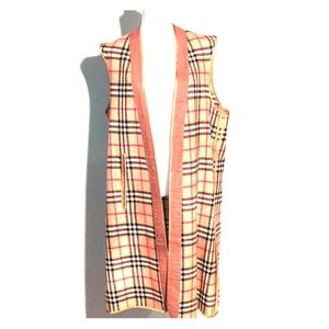 Burberry vintage 90s wool trenchcoat lining add-on
